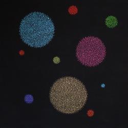 Le Pas du Sage (19) - 2009 - 180x180 cm