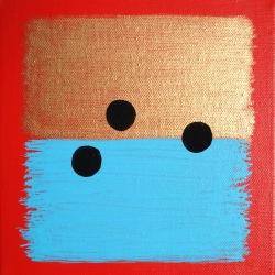 Le Pas du Sage (14) - 2007 - 20x20 cm