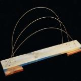 Bander l'arc - 2004 - 70x45x14 cm