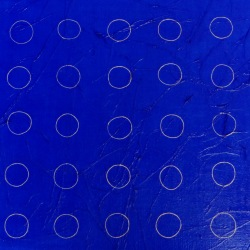 Et les Cieux seront confondus (3) - 2004 - 80x80 cm