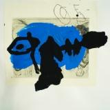 Venu - d'ailleurs - 1996 - 50x32cm sur papier
