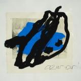 Venu d'ailleurs - 1996 - 50x32cm sur papier