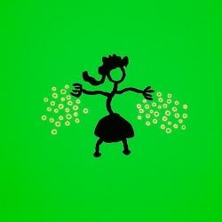 Pelouse Danse - 1999 - 50x50