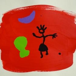 Pelouse Rouge - 1998 - 50x65 cm
