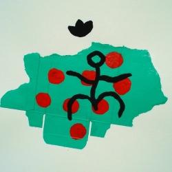 Semper Vivens XVI - 1998 - 65x50 cm