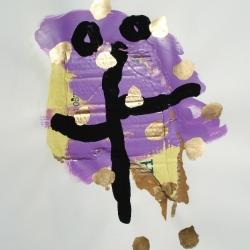 Venu d\'ailleurs - 1996 - 65x50 cm