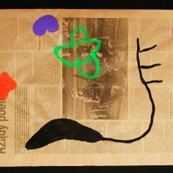 Présents - 1987 -28x42 cm