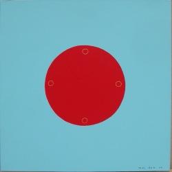 S'asseaoir en Paix (7) - 2003 - 50x50cm