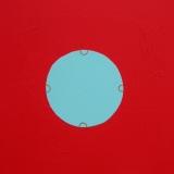 Aux 4 coins du cercle - 2003 - 50x50cm