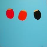 Simple Chaud (8) - 2001 - 180x180 cm